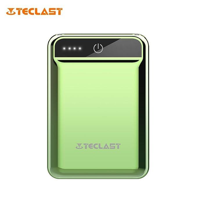 TECLAST 10000 mAh Mini Banco de la energía Dual USB 2.1 A ...