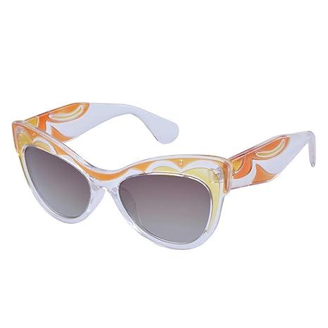 HALORI Gafas de Sol Modernas de Las Gafas de Sol Cateye de ...