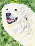 Caroline's Treasures SS8981CHF Great Pyrenees Flag Canvas, Large, Multicolor Review