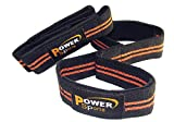 TYSON Weight Lifting Straps FIGURE 8's Padded (1 Pair) Heavy Duty Double Weave