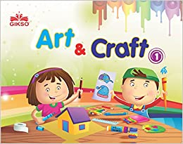 Buy Gikso Art And Craft 1 Activity Book For Kids Age 4 To 7 Years