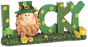 St. Patrick's Day Lucky Sign Table Decor (Hand Painted) Home Decor