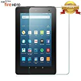 #1: [2-Pack] ArtSet All New HD 10 Tablet (7th Generation / 2017 Released Only) Tempered Glass Screen Protector,[Case Friendly] [State Of The Art] and [Lifetime Replacement Warranty Service]