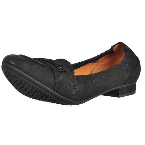 Zapatos Bailarina para Mujer, Color Negro, Marca GEOX