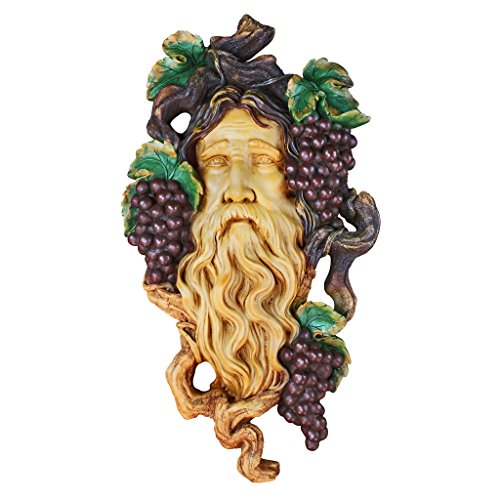 Design Toscano God of the Grape Harvest Wall Sculpture - French Wine Toscana