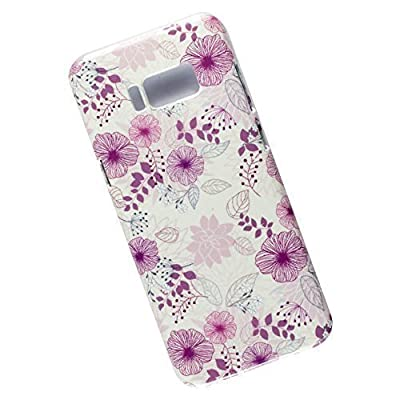 Samsung Galaxy S8 Plus Protective Slim Case. Floral pattern.