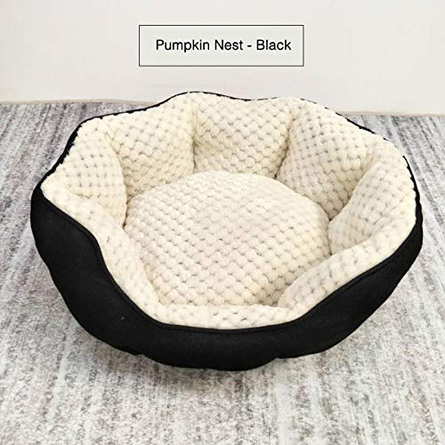 Black Medium Black Medium YZONG Soft Dog Bed Cat Nest Warm Soft Indoor Pet Bed Cave,Pink,Black,Brown,Suitable For Small,Medium,Large Pets[S,M],Black,M