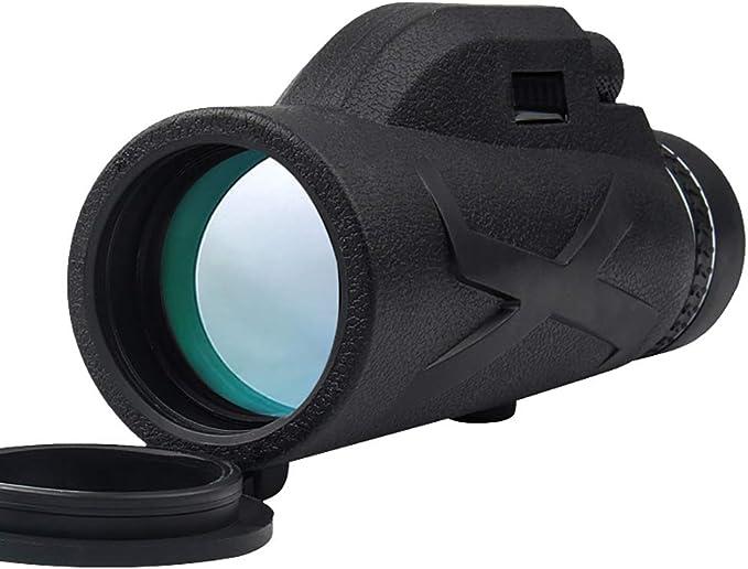 Phone Holder 80X100 HD Zoom Tripod Monocular Telescope Day/&Night Vision Camping