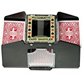 Fat Cat Poker/Casino Game Table Accessory: Automatic Playing Card Shuffler, Holds 1-4 Decks