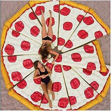 ALXDR Flotadores Inflables Gigantes De La Piscina para Pizza ...