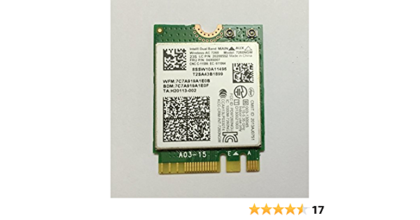 Wireless Lan Card Compatible Intel 7260AC for Lenovo X230S X240 X 240S T440 T540 T440P T540P X1