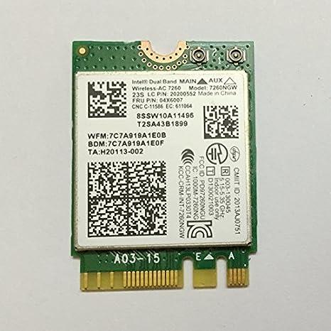 Intel Dual Band 7260ngw Wireless Ac Ngff Card For Lenovo Thinkpad T440 T540  X240 W540 Fru: 04X6007