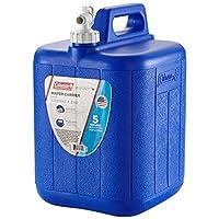 Jarra Coleman Con Portador De Agua, 5 Galones, Azul