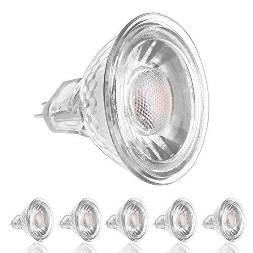 ledera mr16 gu5 3 led bulbs 5w 50w halogen equivalent 3000k import it all. Black Bedroom Furniture Sets. Home Design Ideas