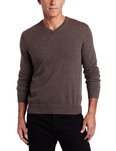 Brown 100% Cashmere Sweater - 6