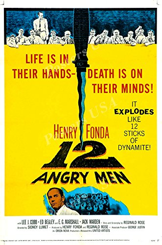 Posters USA - 12 Angry Men Movie Poster GLOSSY FINISH - MOV851 (24