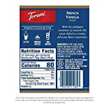 Torani Syrup, French Vanilla, 25.4 Fl Oz, Pack of 4