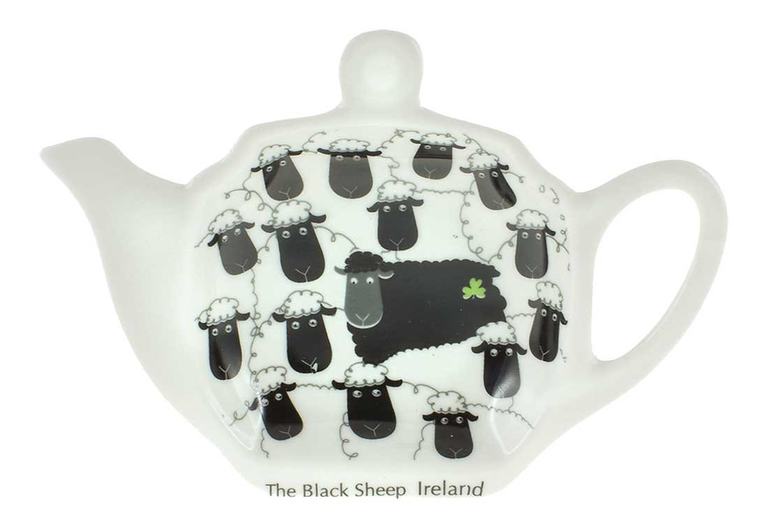 Tea Bag Holder, Black Sheep