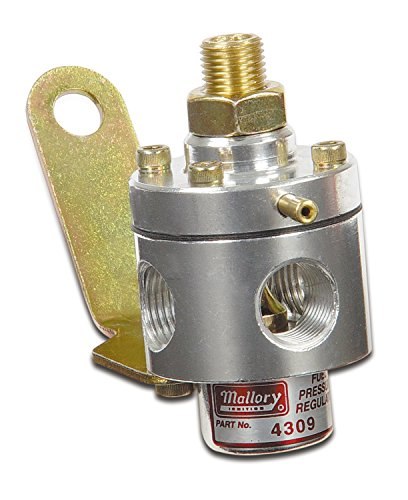 Mallory 29387 Adjustable Fuel Pressure Regulator (3-12PSI Carb)