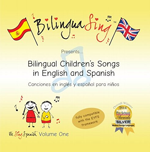Price comparison product image BilinguaSing Spanish Bilingual Nursery Rhymes CD (We Sing Spanish Vol.1)