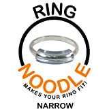 RING NOODLE: Ring Size Reducer | Ring Guard | Ring Size Adjuster, Size: Narrow, for rings 0.5 mm to 1.5 mm wide. 9 Pack