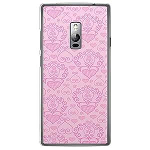 Loud Universe OnePlus 2 Love Valentine Printing Files Valentine 162 Printed Transparent Edge Case - Pink