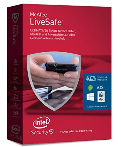 McAfee LiveSafe 2016 unlimited - für eine unbeg...
