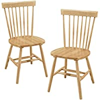 Gramercy Furniture Bristol Dining Chairs in Natural Finish, Set of 2