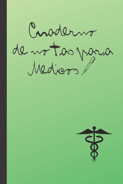 CUADERNO DE NOTAS PARA MEDICOS: CUADERNO 15, 20cm x 23cm ...