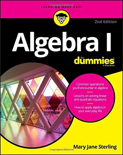 111929357X - Algebra I For Dummies