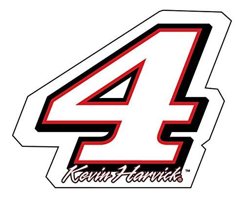 Nascar Red Number - Kevin Harvick Nascar Jumbo Number Magnet