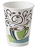Dixie Perfectouch Disposable Hot Cups, 12 OZ Cups (100 Count)