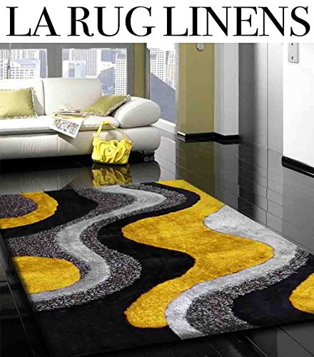 Linen Contemporary Rug - 4