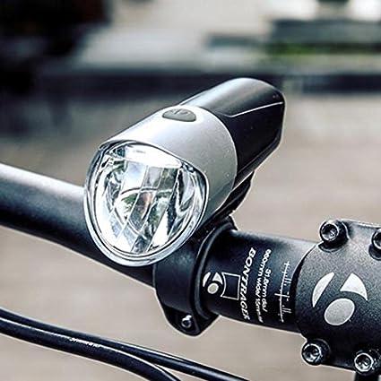 Exinnos - Faros Delanteros para Bicicleta (1500 lúmenes, luz LED ...