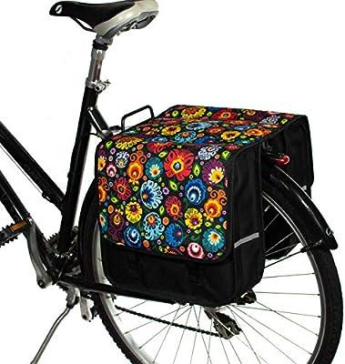 BikyBag Cl?Sica L - Doble Alforjas Bolsa para Bicicleta Mujer ...