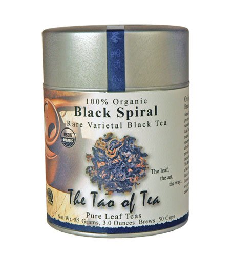 The Tao of Tea, Black Spiral Black Tea, Loose Leaf, 3.0 Ounce Tin ()