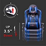 play haha. Ergonomic Gaming Chair Racing Style Office Chair with with Bigger High Backrest and cushion Larger armrest…