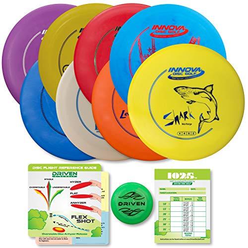 Driven Disc Golf Starter Set - Innova 8 Disc Set (Stingray Innova)