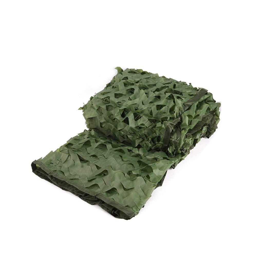 45m GBY Filet de Camouflage Filet ombrage, Filet de Camouflage aérien, Filet décoratif Vert Montagne Parasol de Camping