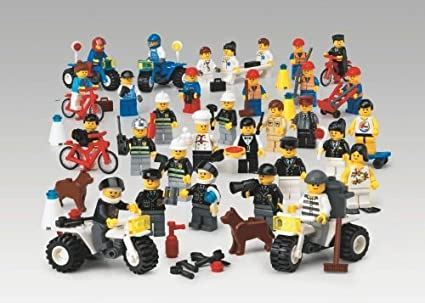 lego education community workers set - Community Workers