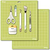 "Cricut Tools Basic Set and 2 Pack Cutting Mats 12""x12"" Bundle"