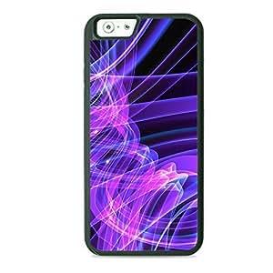 Case Fun Case Fun Purple Swirls TPU Rubber Back Case Cover for Apple iPhone 6 4.7 inch