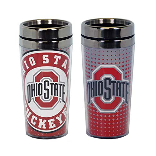 Gameday Outfitters Ohio State Buckeyes Mug Travel DOT Pattern (14oz) 36625