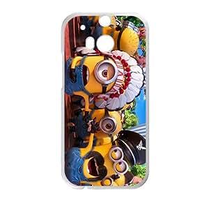 Happy Minions Case Cover For HTC M8 Case