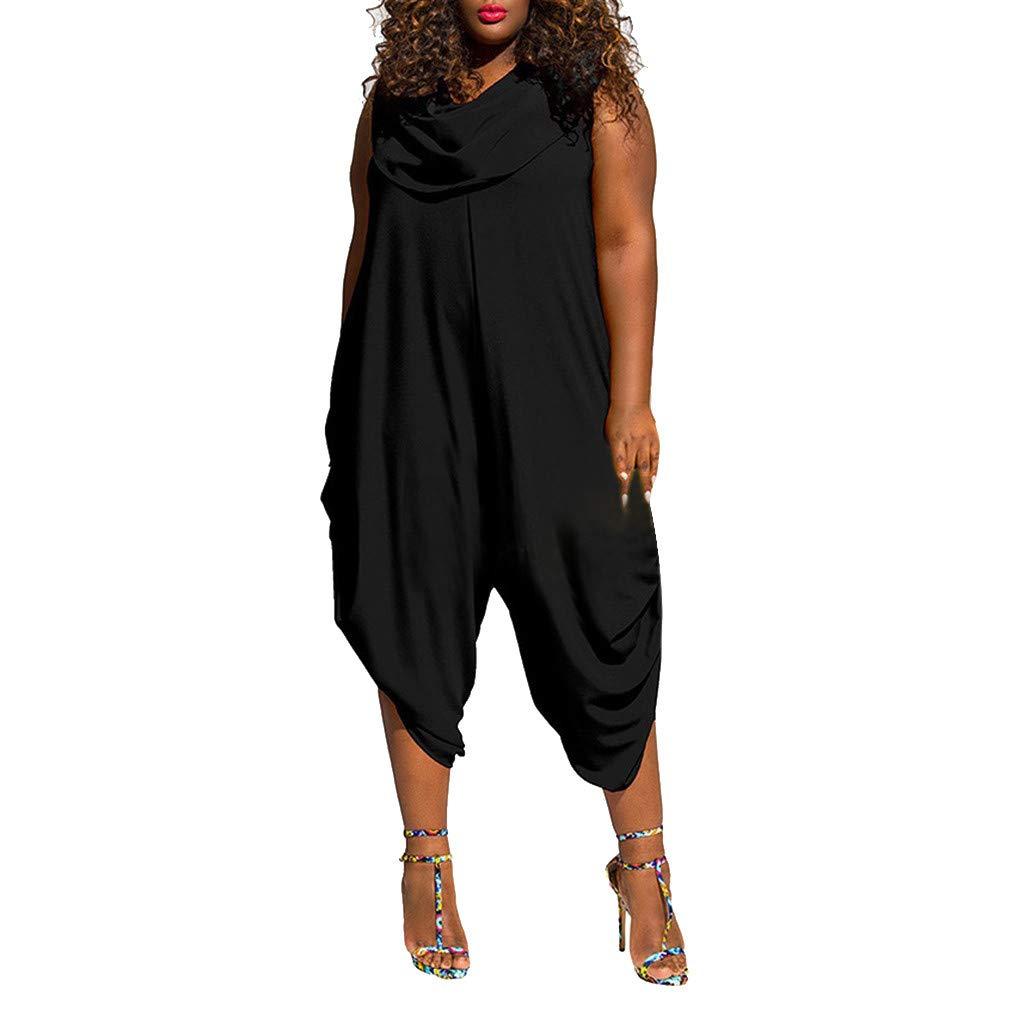 CixNy Damen Kleider Röcke Kurzarm Sommerkleider Strandkleid Sommer Plus Size Jumpsuit Einfarbig Lätzchen Mode Jumpsuit Abendmode Tüllkleid XL-XXXXXL