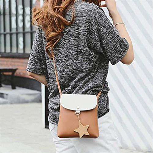 女性のワイルドシンプル原宿学生、女性用メッセンジャーバッグの韓国語版、黒、17 * 20 * 5 Cm 美しいファッション