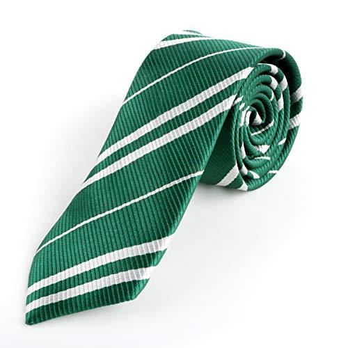 Landisun Tie Halloween Costume Green Necktie Party Costume Regular Cosplay -