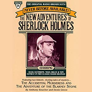 The Adventure of the Blarney Stone and The Accidental Murderess Radio/TV Program