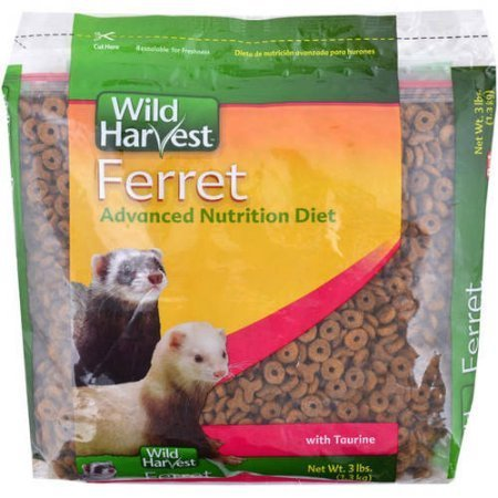 (Wild Harvest 3lb Ferret Food, Pack of 2 (6lb Total))