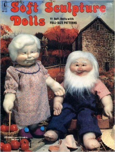 Soft Sculpture Dolls: 11 Soft Dolls with Full-Size Patterns from Craft Course #SP-22